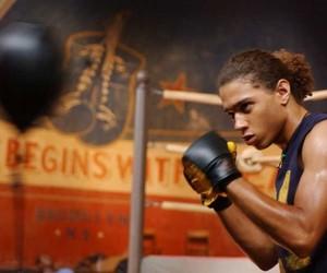 boxing, corbin bleu, and jump in image