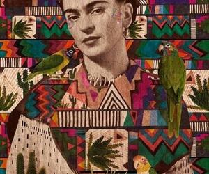 Frida, wallpaper, and pintora image