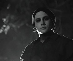 black and white, band member, and balz image