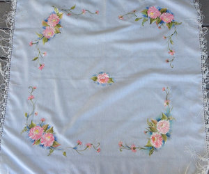 etsy, hand painted scarf, and giftforher image
