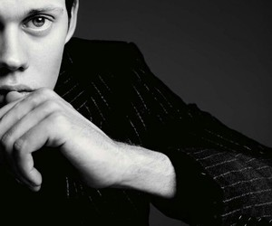 bill skarsgård, roman godfrey, and actor image