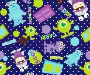 wallpaper, monsters inc, and disney image
