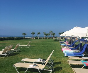 beach, cyprus, and paphos image