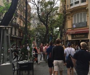 city, spain, and street image
