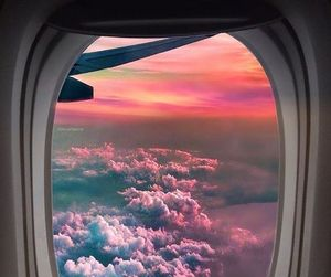airplane, cool, and sky image