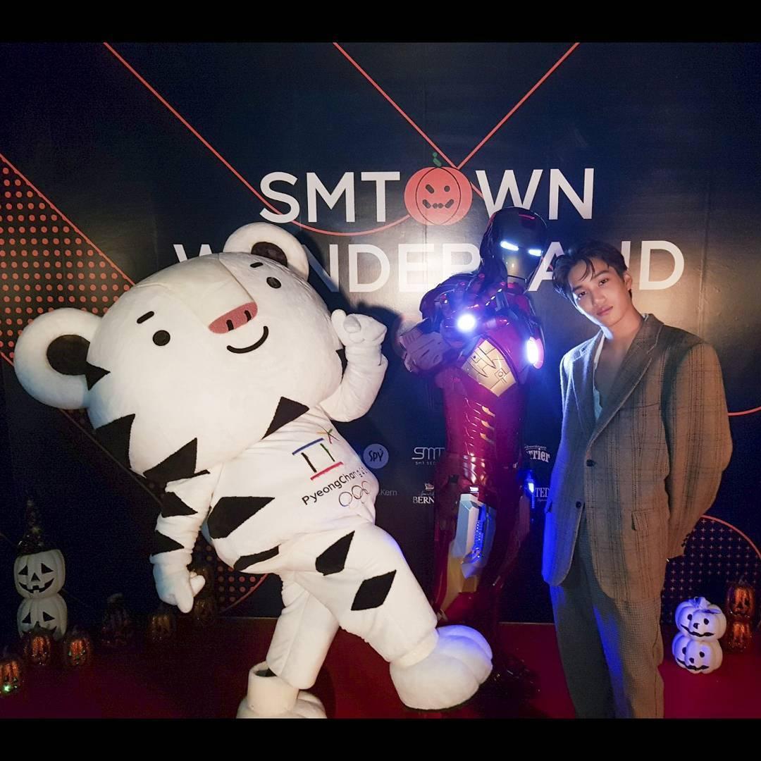exo, iron man, and kai image