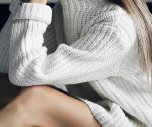 style, fashion, and sweater image