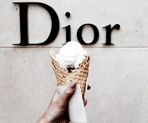 dior, ice cream, and food image