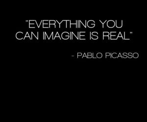 imagine, picasso, and real image
