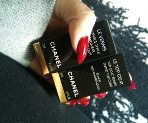 chanel, cosmetics, and long nails image