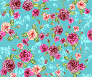 flowers, girly, and pattern image