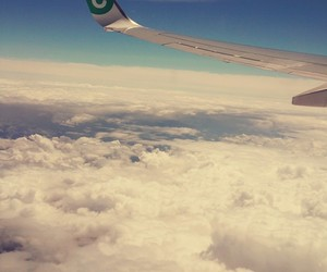 sky, feeling free, and travel image