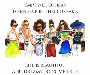art, beauty, and empowerment image
