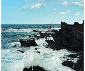 beach, Photograghy, and sea image