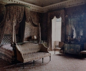 room, victorian, and bed image