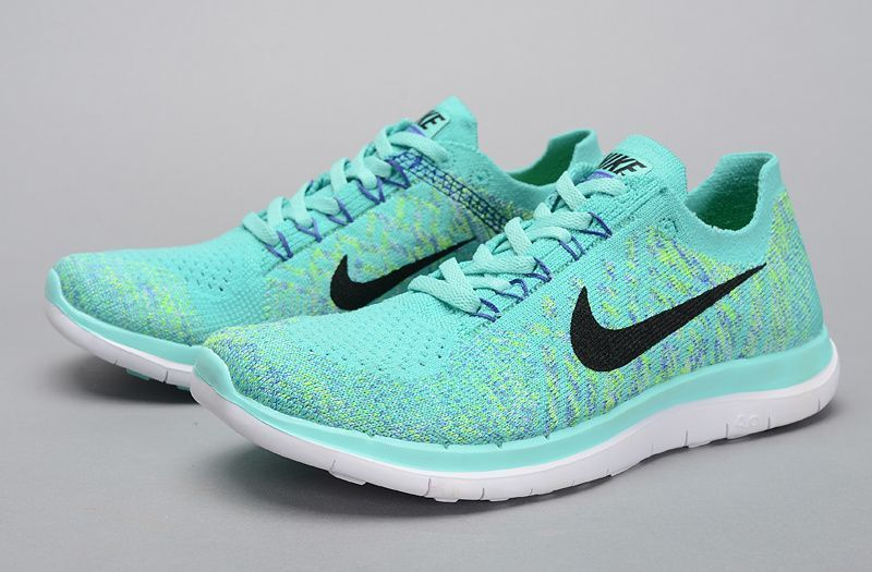 A nueve Personalmente Calma  Nike Flyknit 4.0 Womens Running Shoes Mint Green