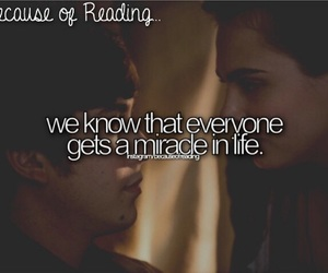 miracle, the paper towns, and because of reading... image