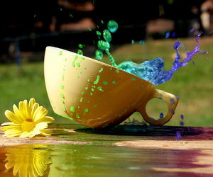 blue, colour, and cup image
