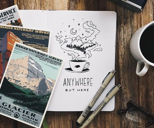 anywhere, world, and love image