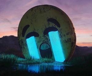 emoji, cry, and sad image