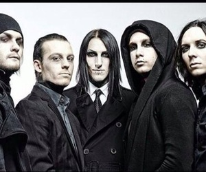 band, motionless in white, and chris cerulli image
