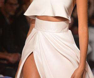 beautiful, dress, and runway image