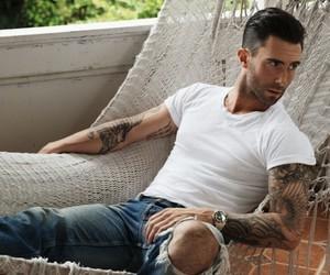 adam levine, sexy, and maroon 5 image