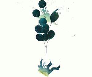 balloons and wallpaper image