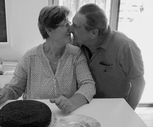 forever, grandparents, and kiss image