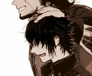 crying, fan art, and gladiolus image