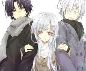 anime, hiiragi, and couple image