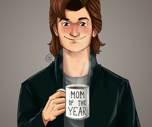 stranger things, steve harrington, and steve image