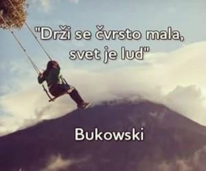 balkan, Bukowski, and quote image