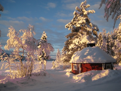 house, niki sjolund, and snow image