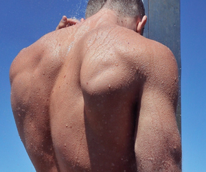 body, boys, and water image