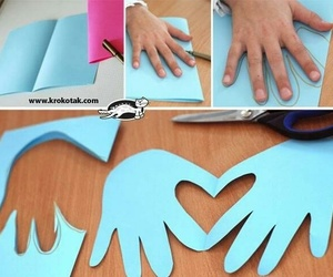 diy, heart, and hands image