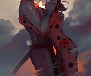 Chat Noir, miraculous ladybug, and ladynoir image