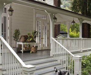 country living, porch, and home decor image