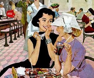 1950s, illustration, and vintage image