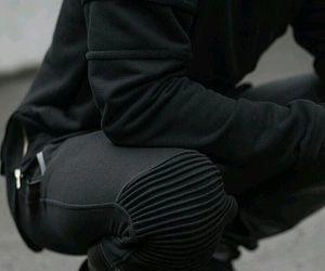 black, fashion, and aesthetic image