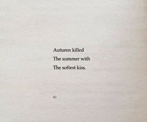 autumn, poetry, and quotes image