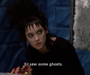 ghost, beetlejuice, and winona ryder image