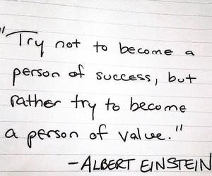 Albert Einstein, einstein, and quotes image