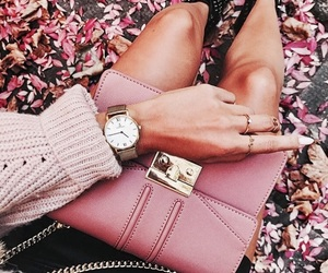 autumn, details, and hand bag image