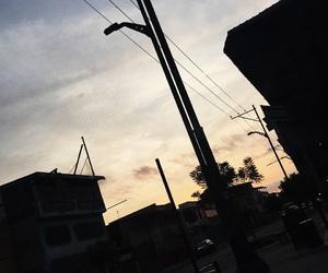 ecuador, street, and sunset image