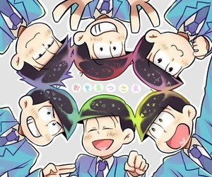 anime, ichimatsu, and osomatsu image