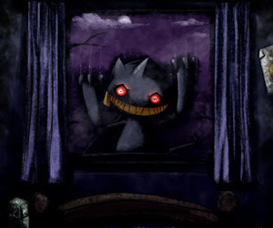 creepy, ghost, and pokemon image
