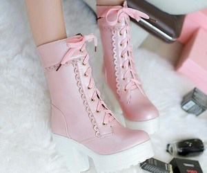 boots, kawaii, and lovely image