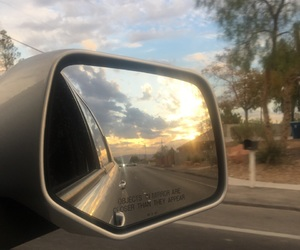 car, sky, and clouds image