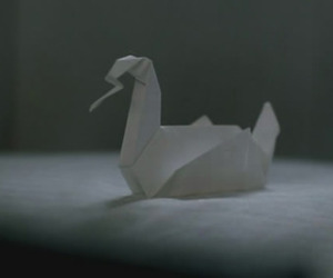 origami, prison break, and wentworth miller image